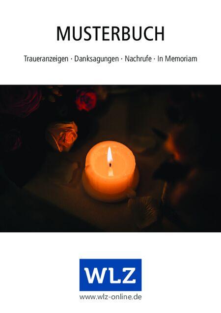 Musterbuch Trauer vom 30.06.2021